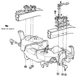 1993 Ford Aerostar: Suspension Problem 1993 Ford Aerostar