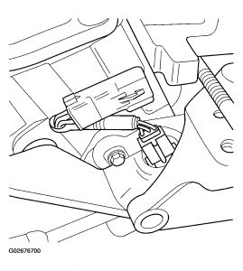 2003 Dodge Caravan Camshaft Sensor 03 GC-SE 3.3L: the Wife