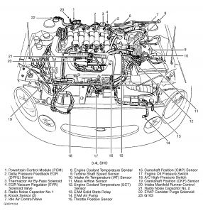 1997 Ford Taurus: Engine Mechanical Problem 1997 Ford