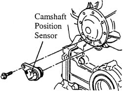 Cam Position Sensor: Vehicle Had No Loss of Power, No