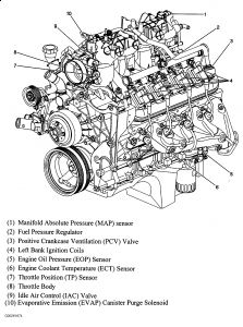 2005 Chevy Avalanche Oil Sending Unit: Engine Mechanical