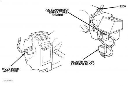 2004 Dodge Stratus BLOWER SWITCH: Heater Problem 2004