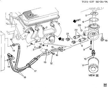 V8 Vortec Engine Diagram Chevy Vortec Engine Diagram