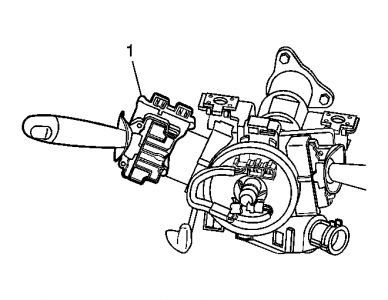 2007 Chevy HHR Turn Signal Lever: Interior Problem 2007