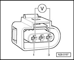 2001 Volkswagen Beetle Camshaft Position Sensor