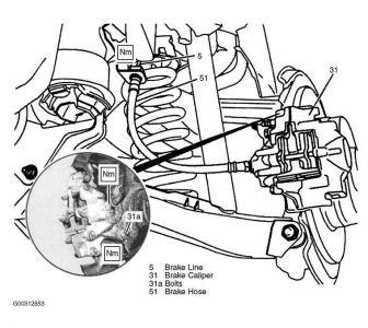 2003 Mercedes Benz S320 Rear Brakes: Brakes Problem 2003