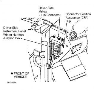 2002 Chevy Cavalier: Interior Problem 2002 Chevy Cavalier