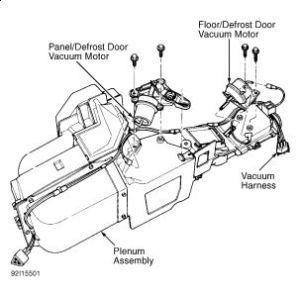 1996 Ford F150 Need a Heater Core Diagram