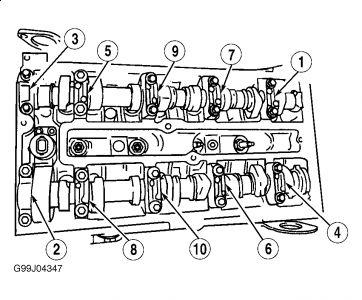 1998 Ford Contour Timing Belt / Engine Head: Timing Belt