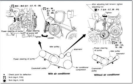 Engine Diagram 2001 Hyundai Santa Fe And Belts, Engine