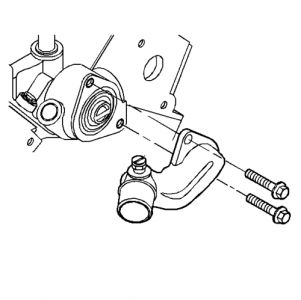 How to Change the Thermostat: Six Cylinder Front Wheel