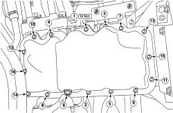 1998 Ford Contour R&i Oil Pan