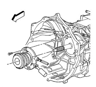2001 Chevy S-10 Replacing the Clutch: I Need Directions on