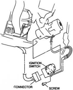 1988 Mazda B2200 Ignition Switch: How to Change the