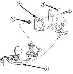 2000 Chrysler LHS Starter: Engine Mechanical Problem 2000