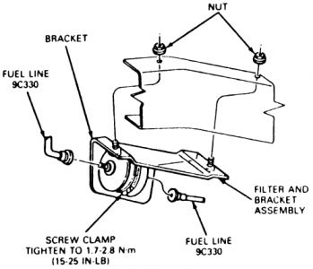 Fuel Filter: Location Of Fuel Filter On 2003 Ford Explorer