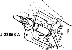 1987 Chevy Van Turn Signal Lever: Interior Problem 1987