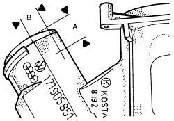 1998 Volkswagen Golf Ignition Cylinder Housing: Steering
