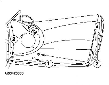[2002 Mercury Cougar Driver Door Latch Repair Diagram
