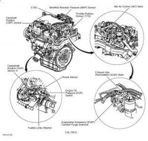2003 Chevy Monte Carlo EGR Valve or Tube