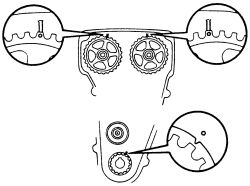 1988 Toyota Corolla Time Belt: Engine Mechanical Problem