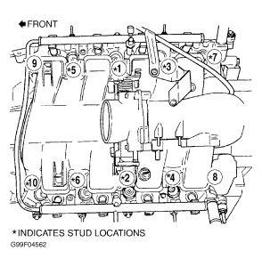 2001 Dodge Dakota Head Bolt Tork: Engine Mechanical