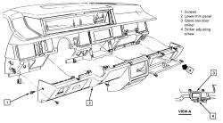 1990 Oldsmobile 98 Radio Removal: Interior Problem 1990