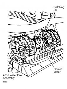 Mercedes Blower Motor BMW Blower Motor Wiring Diagram ~ Odicis