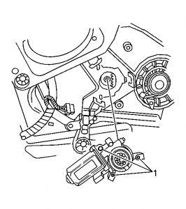 2004 Chevy Malibu How to Change Power Window Motor Drivers