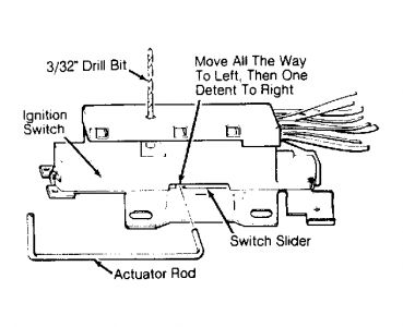 1993 Chevy Lumina Ignition Switch: Steering Problem 1993