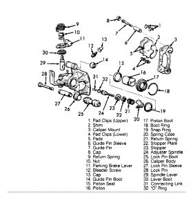 1994 Other Mitsubishi Models Replace Rear Brakes on 1994 Eag