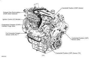 Crankshaft Position Sensor: Engine Mechanical Problem 6