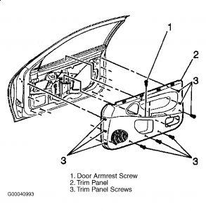 2001 Chevy Cavalier Broken Exterior Door Handle: Hi How