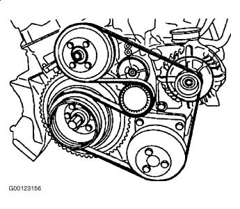 540I belt bmw diagram