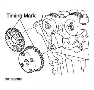 2002 Toyota Corolla Timebelt: Engine Mechanical Problem