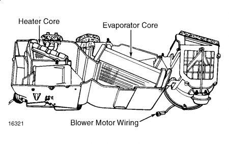 1989 Dodge Caravan Heater Core Replacement: Engine Cooling