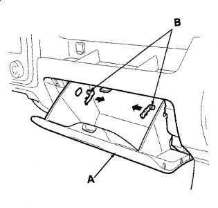 Service manual [2010 Honda Ridgeline Glove Box Removal