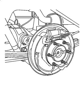 2005 Chevy Colorado Rear Brake Diagram: Looking for Rear