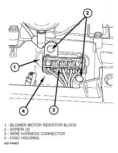 2004 Jeep Liberty Blower Motor Resistor: How Do You