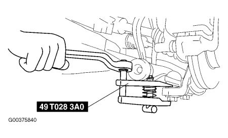 2003 Mazda 6 Lower Ball Joint: Instructions for Changing