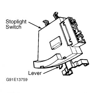 [How To Replace Stoplight Switch On A 1993 Geo Metro