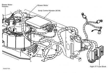 2001 Pontiac Grand Am Blower: 2001 Pontiac Grand Am 6 Cyl