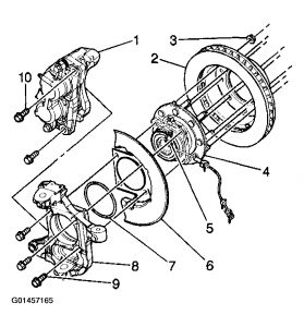 2006 Chevy Cobalt Steering Column Diagram