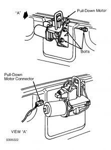 1996 Cadillac El Dorado Trunk Lid Motor: I Have a New