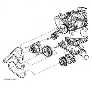 2005 Chevy Impala Automatic Transmission Diagram, 2005