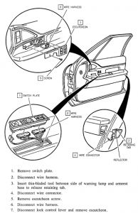 1992 Buick Lesabre Headlight Switch: How Do I Remove the