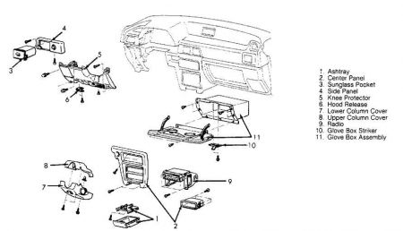 Service manual [Replace Heater Fan 1993 Dodge Colt