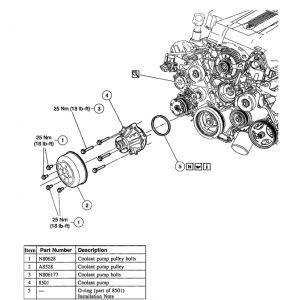 Service manual [Removing 2000 Mercury Mountaineer Injector