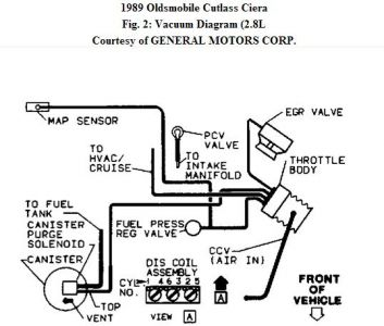 1989 Oldsmobile Ciera Hoses: I Recently Replaced the Head