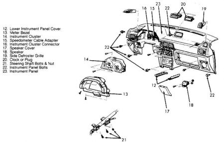 Service manual [How To Replace A 1992 Dodge Colt Blower